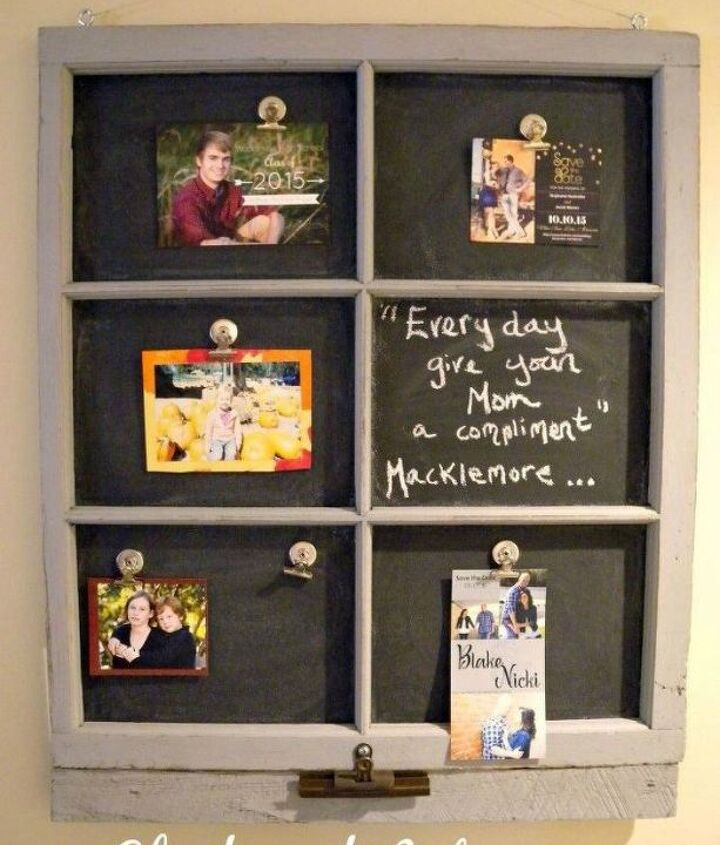 s the ultimate list of window upcycling ideas, windows, Or turn it into magnetic chalkboard