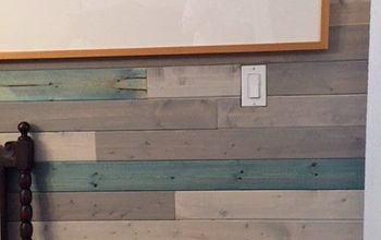 Planked Dining Room Wall
