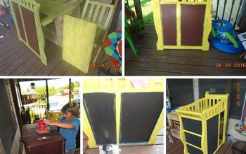 changing table updo, chalkboard paint, how to, painted furniture