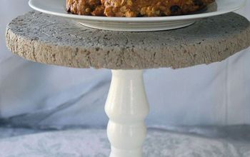 How to Make A Beautiful Concrete Cake Stand Using Quikrete