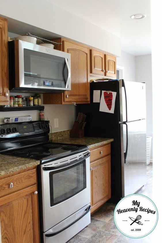 kitchen makeover by painting kitchen cabinets, kitchen cabinets, kitchen design, painting