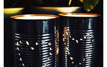 Tin Can Lanterns in 10 Minutes!