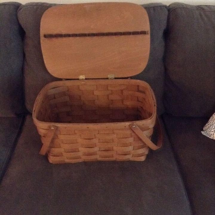 q what can i do with this basket , repurpose household items, repurposing upcycling