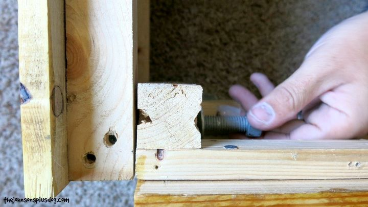 diy reclaimed wood bed, bedroom ideas, woodworking projects