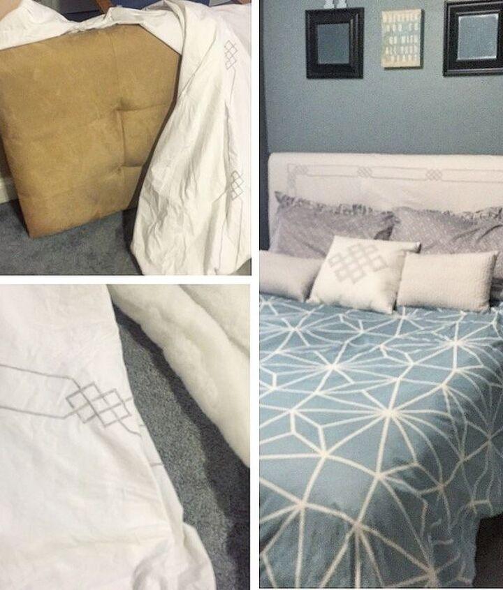 Comforter turned slipcover