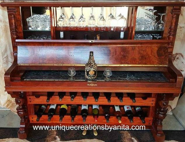 How To Repurpose A Piano Into A Bar Drinks Cabinet Hometalk