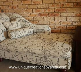 from recycled junk to stunning creation how to reupholster woodworking projects Handmade. Handmade Chaise Lounge : how to reupholster a chaise - Sectionals, Sofas & Couches