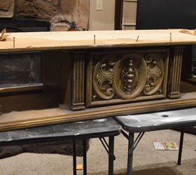 Great Old Coffee Table To Upholstered Entry Bench, Painted Furniture, Repurposing  Upcycling, Shabby Chic