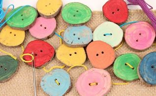 from branches to buttons, crafts, how to