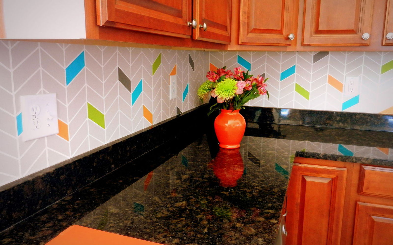 colorful kitchen tiles 13 kitchen backsplash ideas that aren t tile 2353