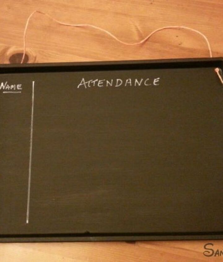 s don t throw out that old cookie sheet before you see these ideas, repurposing upcycling, Turn it into a magnetic chalkboard