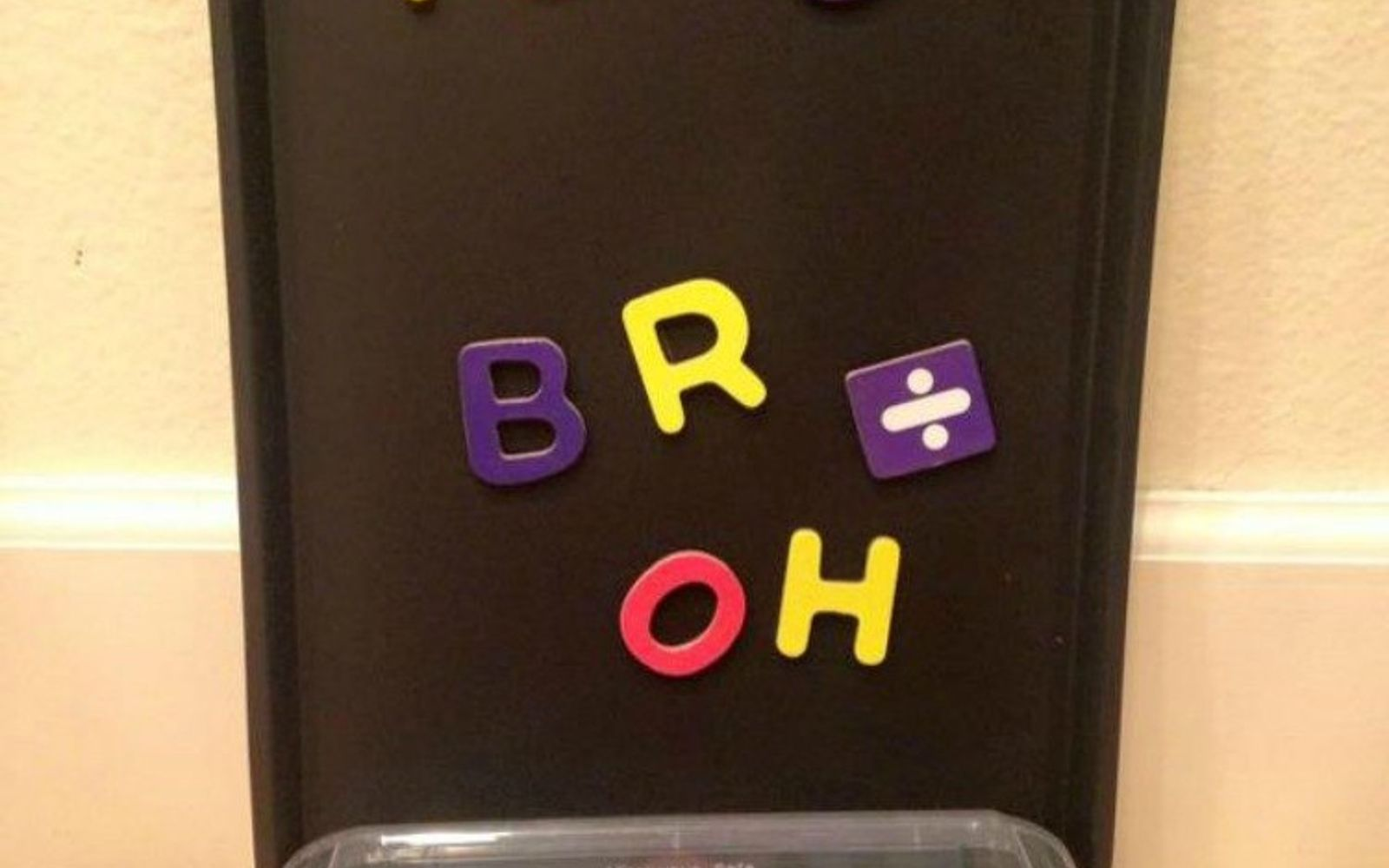 s don t throw out that old cookie sheet before you see these ideas, repurposing upcycling, Use it for your kid s magnets