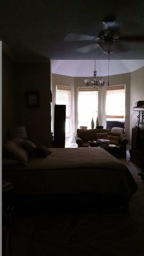 q odd shaped bedroom layout help , bedroom ideas, home decor, home decor dilemma, view from the bathroom door