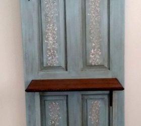 Exceptionnel Old Door Transformed To Hall Tree Coat Rack , Doors, Repurposing Upcycling