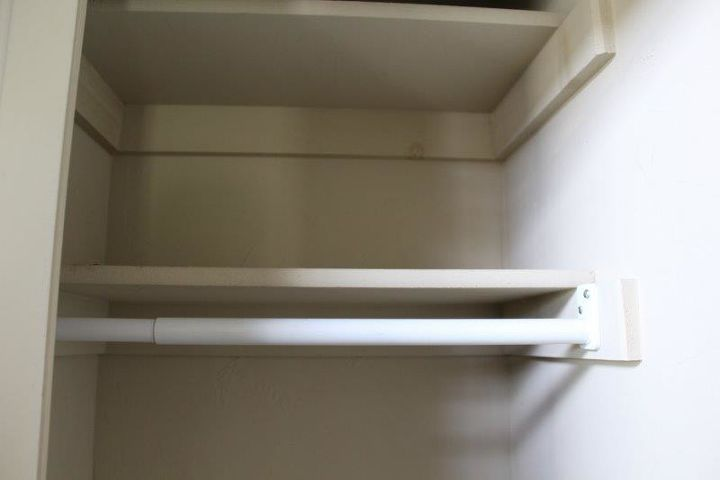 how to turn a small closet into storage for dining linens, closet, how to, storage ideas