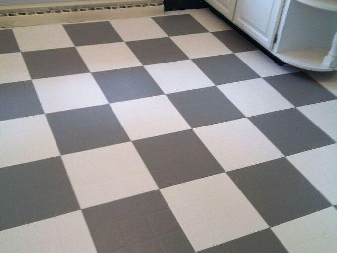 painting kitchen linoleum , flooring, kitchen design, painting