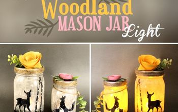 Woodland Mason Jar Lights