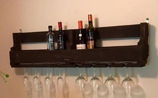 pallet wine rack, how to, painting, pallet, repurposing upcycling