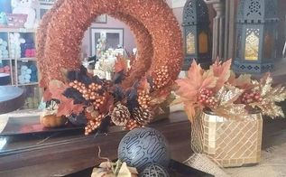 diy fall wreath tutorial, crafts, how to, seasonal holiday decor, wreaths