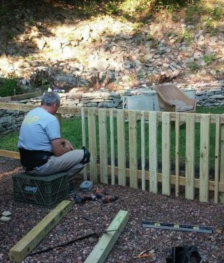 backyard makeover, landscape, woodworking projects