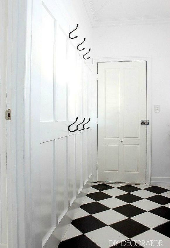 s want board and batten walls these doable ideas are brilliant , Add hooks to double it as a mudroom