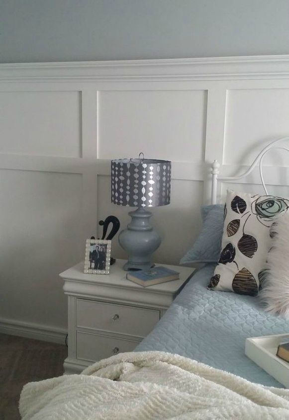 s want board and batten walls these doable ideas are brilliant , Add a crown molding to the top for a shelf