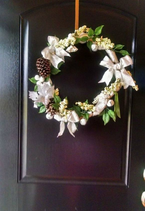 s 17 tricks to make a gorgeous wreath in half the time, crafts, wreaths, Or use deconstructed wicker basket handles