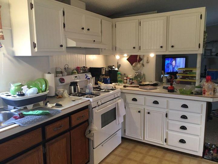 My Mobile Home Kitchen Makeover. | Hometalk