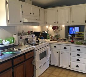 My Mobile Home Kitchen Makeover , Home Decor, Kitchen Cabinets, Kitchen  Design, ...