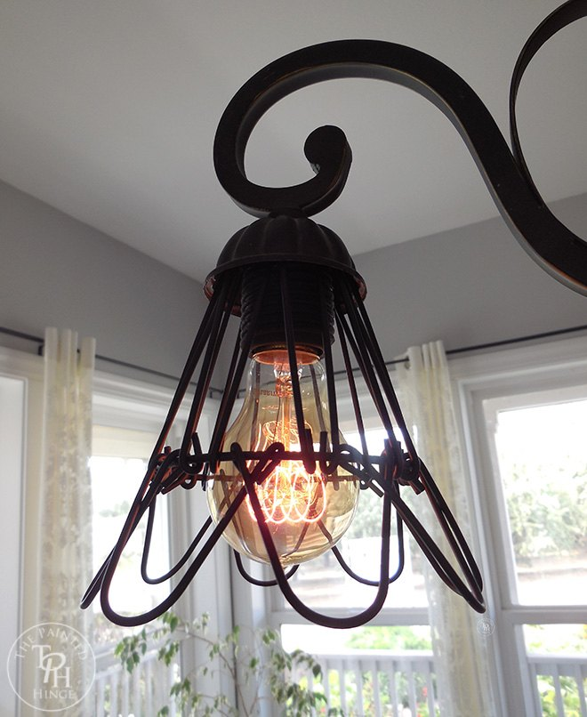 how to makeover a chandelier in farmhouse style, how to, lighting