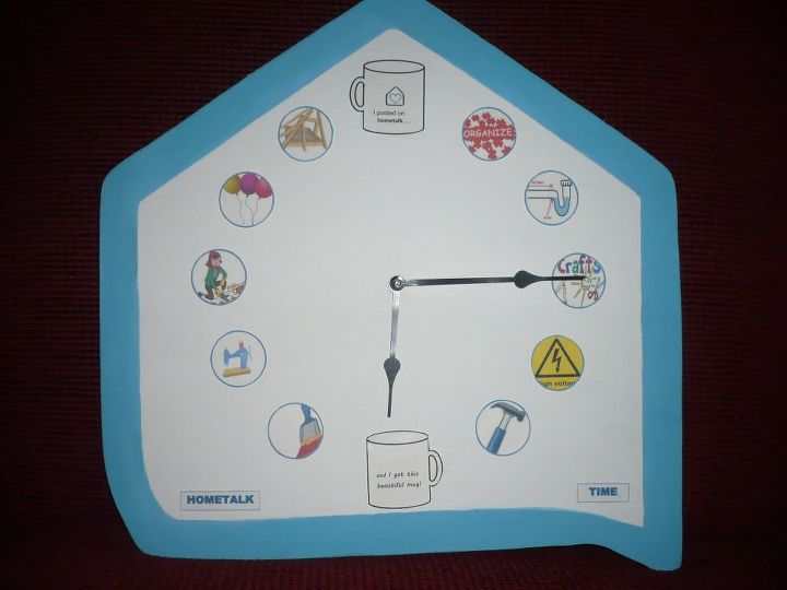 I DID IT!   MADE MY CLOCK AND IT WORKS!!