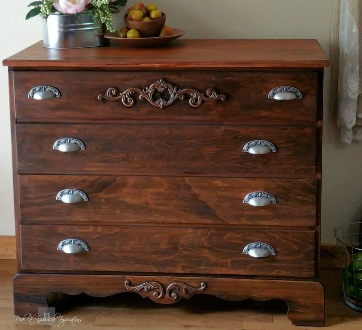 class it up dresser makeover, how to, painted furniture