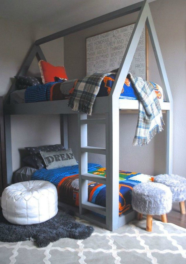 coolest bedrooms. This house bunk bed Give Your Kids the Coolest Bedrooms With These 13 Jaw Dropping