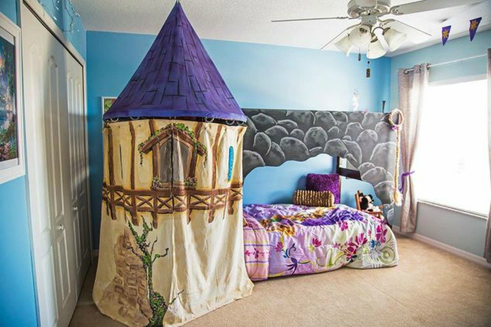 This fairy tale bed with Rapunzel s castle. Give Your Kids the Coolest Bedrooms With These 13 Jaw Dropping
