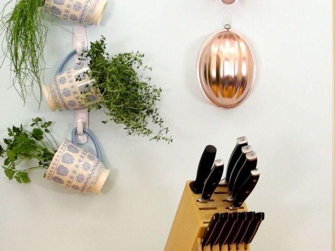 indoor herb garden, container gardening, gardening, how to, repurposing upcycling