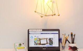 diy industrial light fixture, crafts, how to, lighting