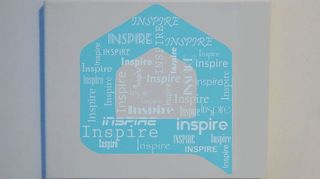 , Inspire wall canvas