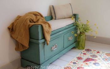 turning a bookcase into a bench, home decor, outdoor furniture, painted furniture