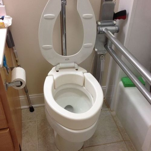 homemade toilet seat