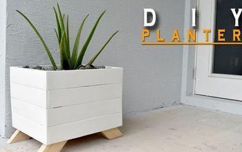 Create a Planter Box From Pallets