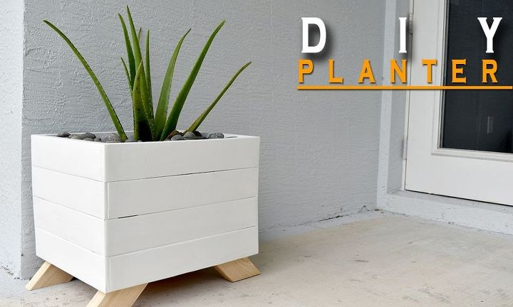 create a planter box from pallets, gardening, pallet