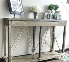 Build This Entry Table For Less Than 40, Home Decor, Painted Furniture,  Rustic