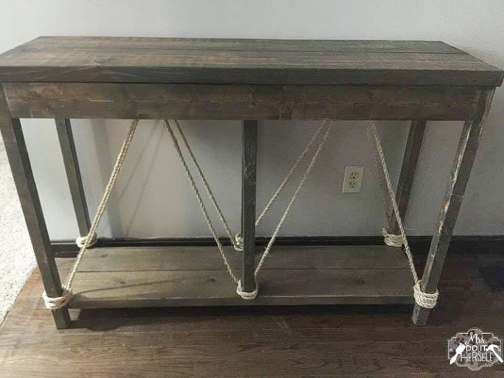Build This Entry Table For Less Than 40 Home Decor Painted Furniture Rustic