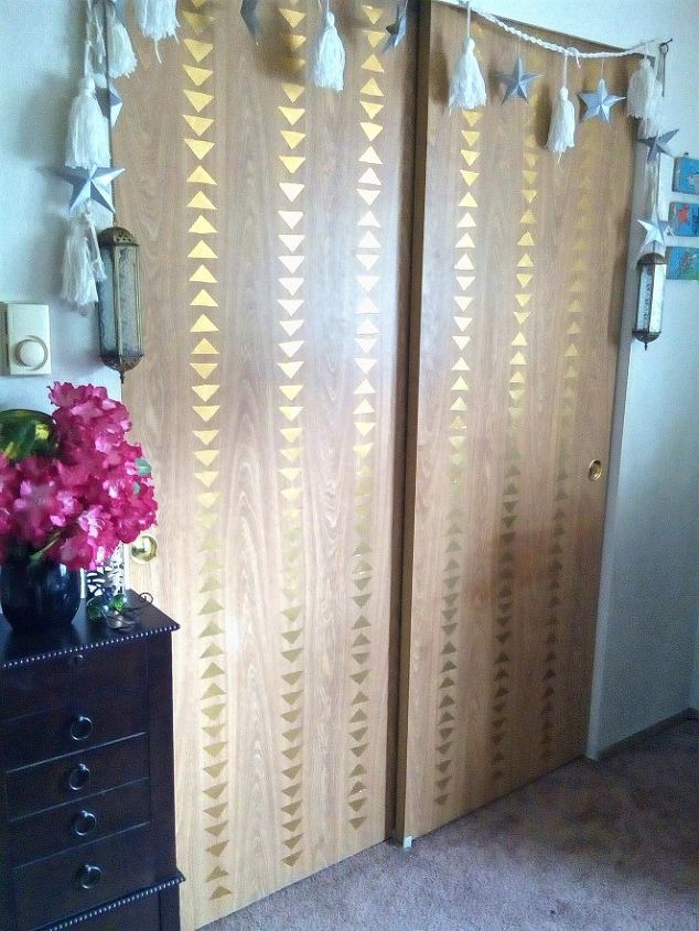 closet decor from duct tape and pop cans, closet, home decor