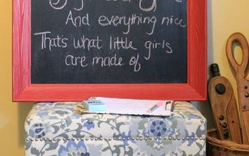 How to Make a Chalkboard With a Old Frame