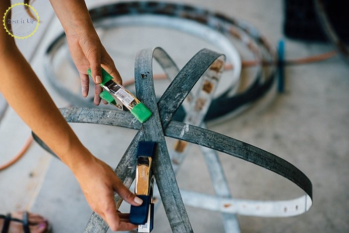wine barrel garden art, crafts, repurposing upcycling