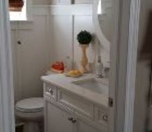 we gave our bathroom a farmhouse look , bathroom ideas