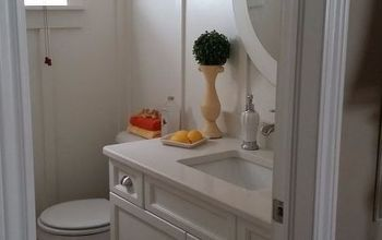 we gave our bathroom a farmhouse look , bathroom ideas