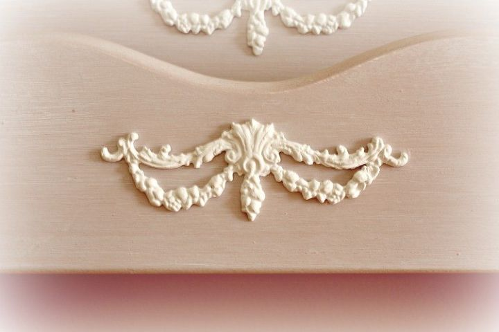 handmade furniture appliques, how to, painted furniture