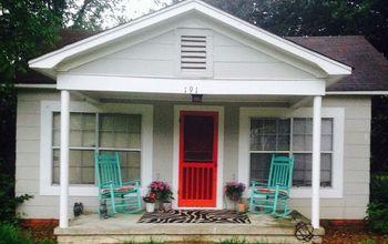 Boring Concrete Porch to Fabulous!
